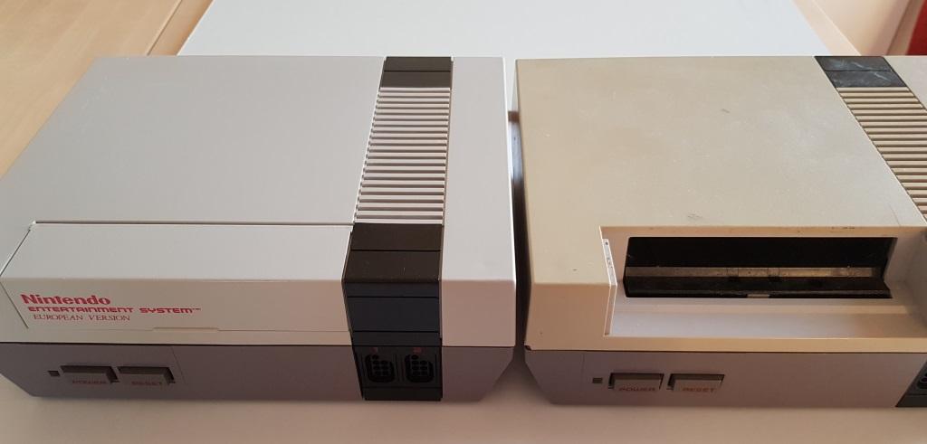 Good looking NES vs. Terrible looking NES