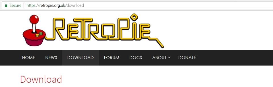 Retropie logo