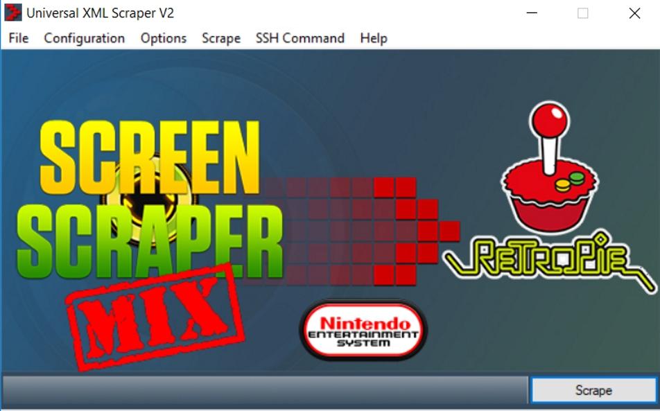 Universal XML Scraper V2 GUI