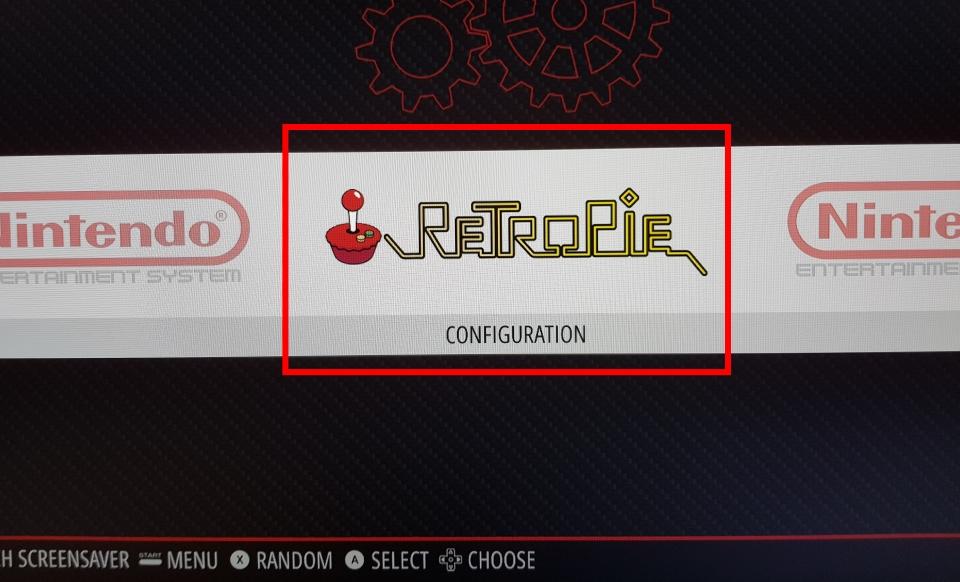 Retropie menu