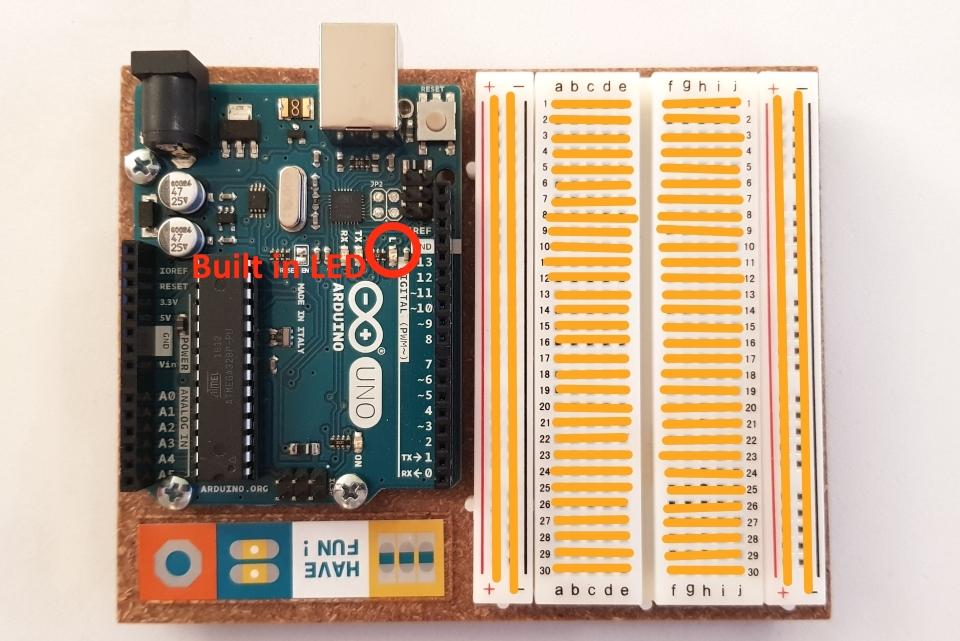 Arduino UNO & breadboard