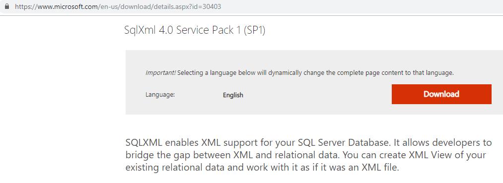 Download SQL WML 4.0