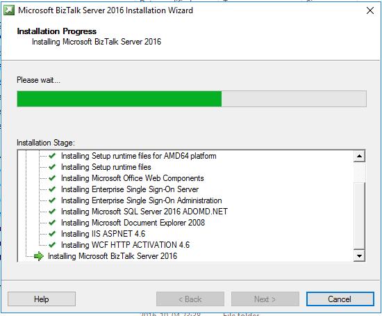 bts installing...