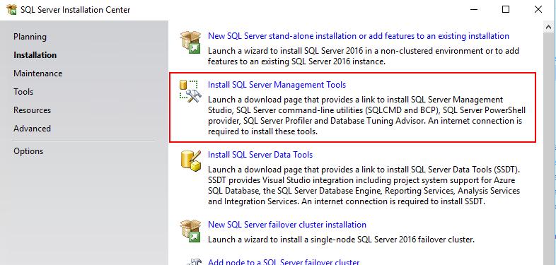 ssms tools