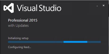 install VS 2015