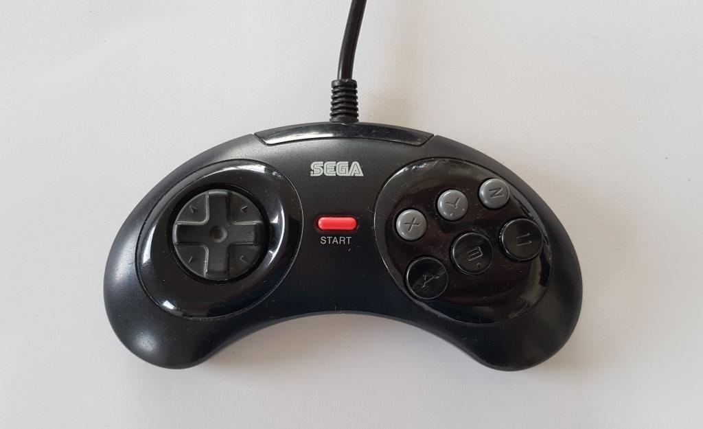 Sega controller 6 buttons
