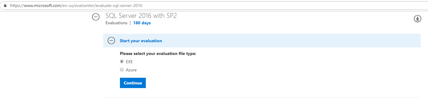 Download SQL