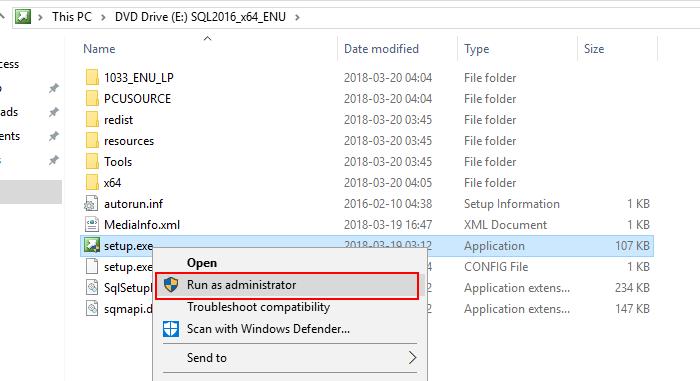 run SQL media
