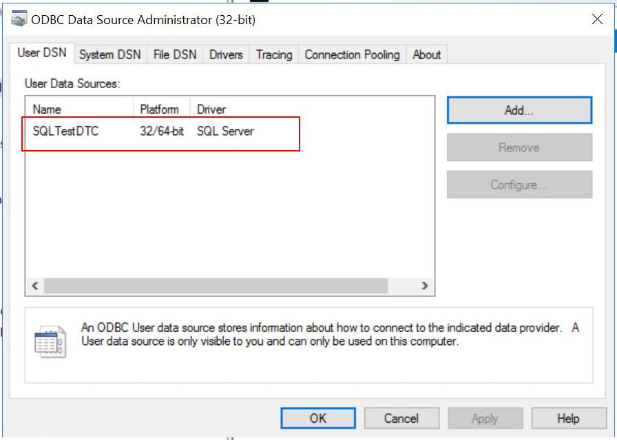 ODBC Source