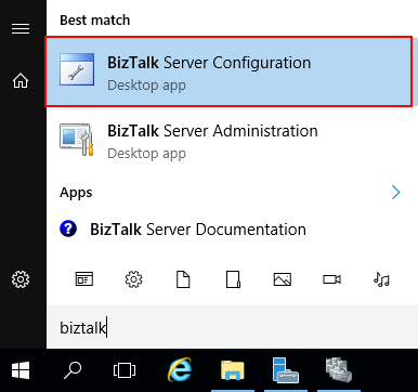 BizTalk Server Configuration