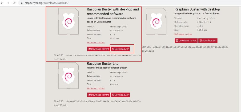Download Raspbian