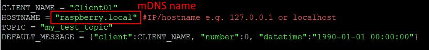 change hostname code