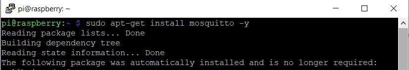 install mosquitto mqtt broker