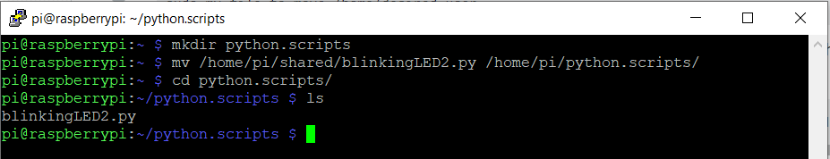 move blinkingLED2.py file